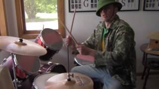 jurassic park drum cover positive feedback only