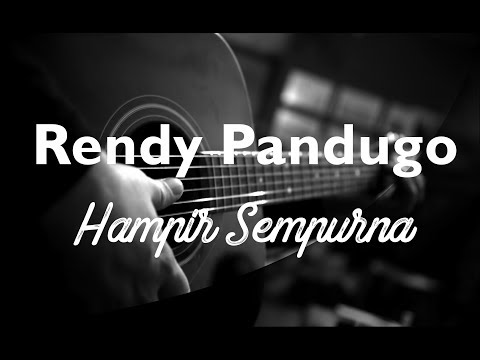 Rendy Pandugo Hampir Sempurna ( Acoustic karaoke / Cover / Instrumental )
