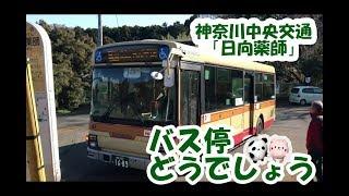 バス停どうでしょう!神奈川中央交通「日向薬師(ひなたやくし)」