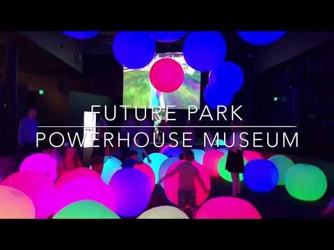 Future Park at Powerhouse Museum tour - November 2017