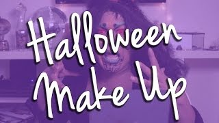 Creepy Halloween Makeup Tutorial Thumbnail
