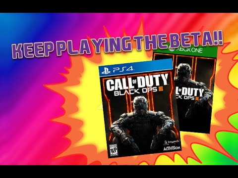 HOW TO KEEP PLAYING THE BLACK OPS 3 BETA AFTER IT FINISHED!!!