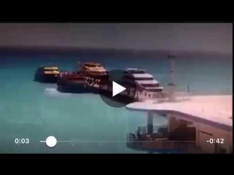 Decenas de personas resultan heridas en una explosión en un barco en el Caribe mexicano