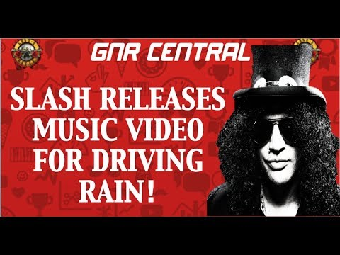 Guns N' Roses News: Slash Releases Music Video for 'Driving Rain' & AFD Box Sets on Sale!