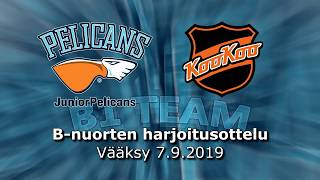 La 7.9.2019 Pelicans B1 Team - KooKoo B Team