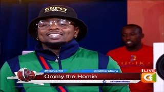 Ommy Dimpoz music on the ten #10Over10