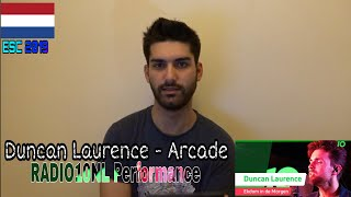 Duncan Laurence - Arcade (Radio10NL Performance Reaction - The Netherlands Eurovision 2019)