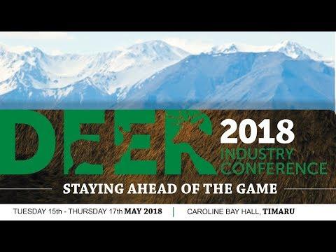 2018 Deer Industry NZ Conference