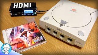 NO MORE LAG Dreamcast/PS2 HDMI Adapters
