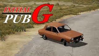 【PUBG】INITIAL-G [My Best Drift Ever]