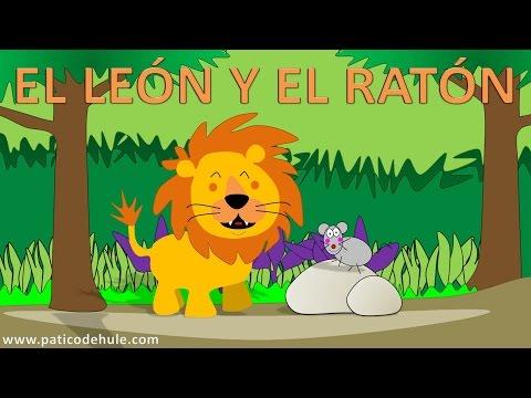 El león y el ratón - Fábulas para niños - Cuentos con moraleja