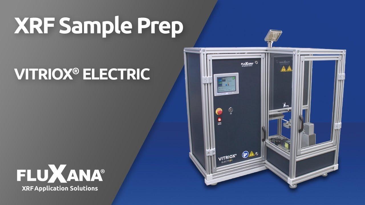 FLUXANA VITRIOX ELECTRIC fusion machine for X-ray fluorescence analysis (XRF)