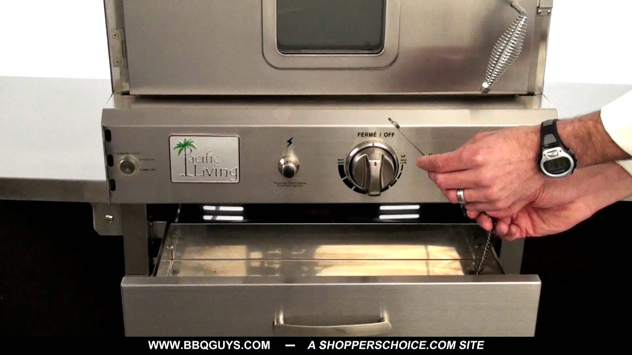 Pacific Living Outdoor Pizza Oven Overview   YouTube