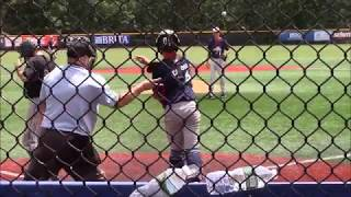 Connor Bastidas (2018) Summer 2016 16U Baseball Highlights: Pitcher, Shortstop, 3rd Base