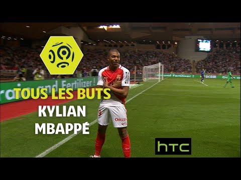 Tous les buts de Kylian Mbappé - AS Monaco 2016-17 - Ligue 1