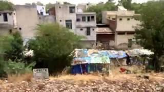Slum Residence near S,Rohilla railway Station. delhi.