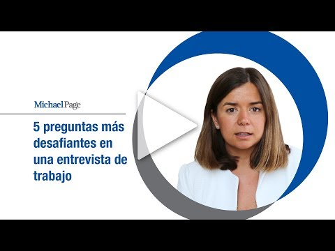 Las 5 preguntas más desafiantes en una entrevista de trabajo, Berta Arisó (Michael Page)