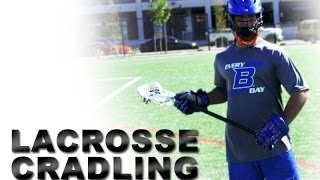 Lacrosse Cradling | Lacrosse Stick Control | Youth Lacrosse Drills