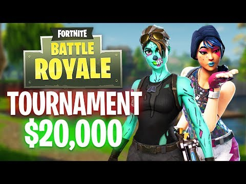 Fortnite YouTuber Tournament!! $20,000 Prize! (Fortnite Battle Royale)