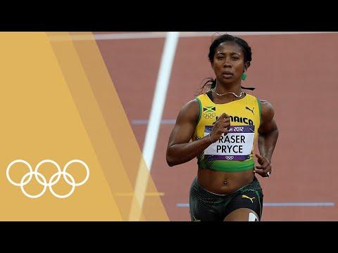 ShellyAnn FraserPryce JAM  Women's 100m  Champions of London 2012