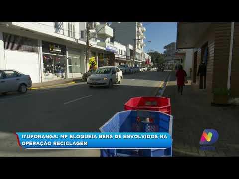 MP bloqueia bens de envolvidos na operação reciclagem em Ituporanga