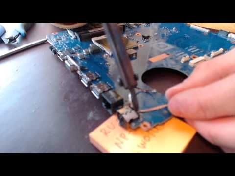 how to change power socket samsung laptop