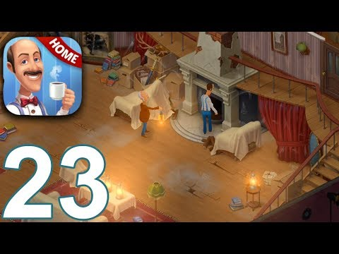 HOMESCAPES Story Walkthrough Gameplay Part 23 - Day 18 (iOS Android)