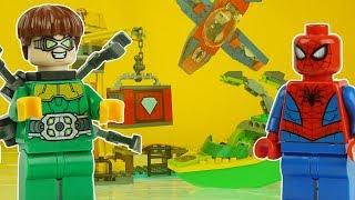 LEGO SPIDERMAN vs DOC OCK superhero spiderman toys far from home