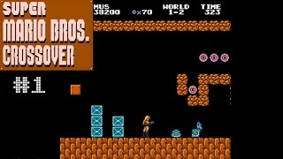 super mario bros crossover awesome fan game let s play 1