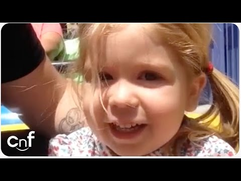 Little Girl Goes On Roller Coaster for First Time | #MISTAKE