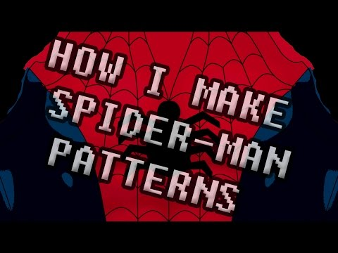 HOW I MAKE SPIDER-MAN PATTERNS! #1