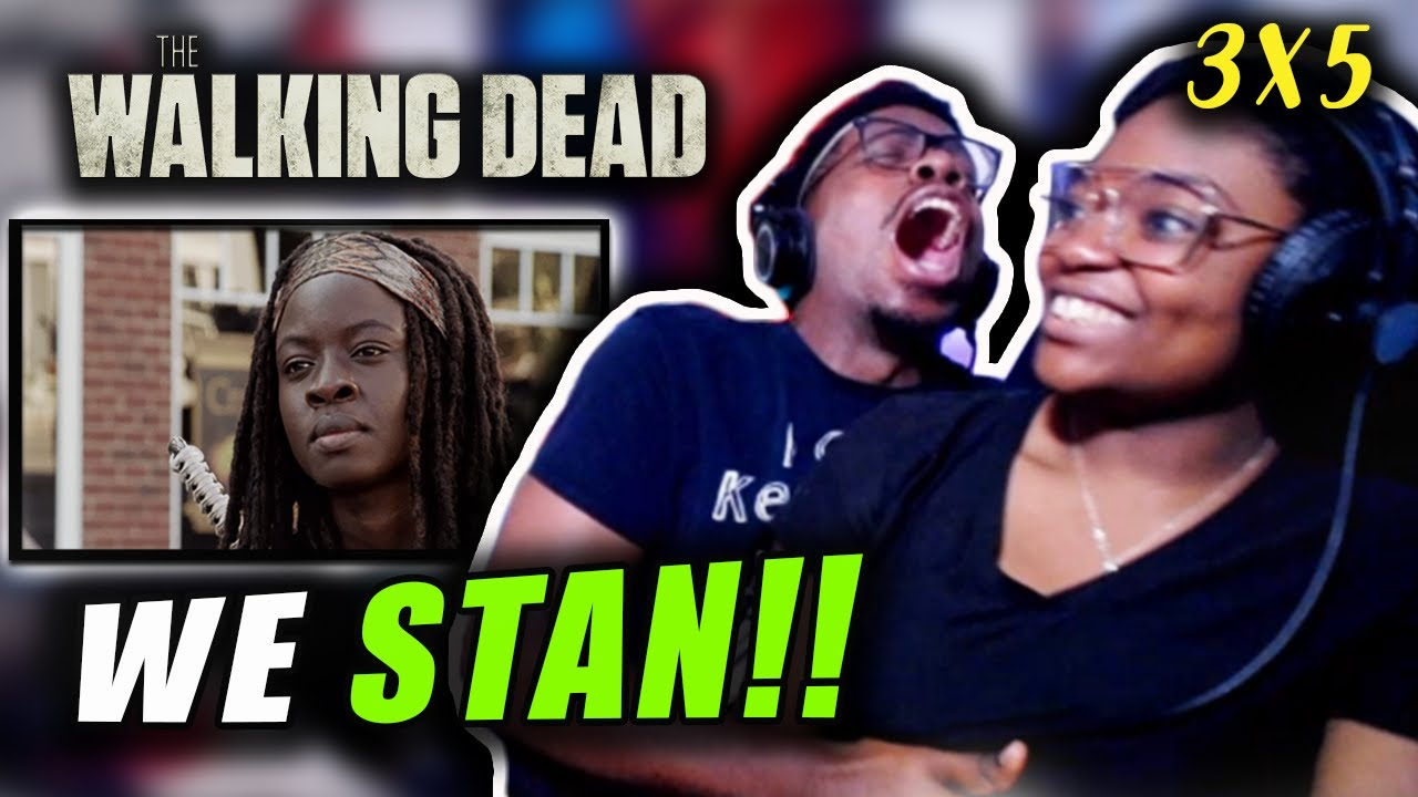 """Download She is the BEST! - THE WALKING DEAD 3x5 """"Say the Word""""   REACTION!!"""