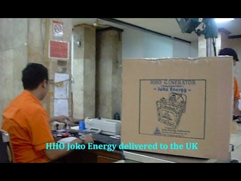 HHO Indonesia Joko Energy delivered to England (UK)