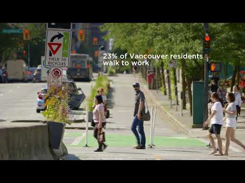 Getting around the Vancouver Way - on foot, by bike, or on self-powered wheels