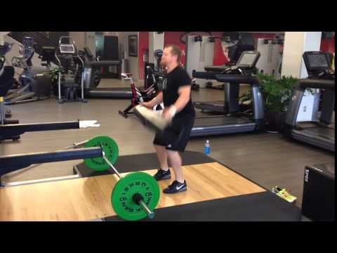 Weightlifting with ViPR - John Sinclair. Video 3