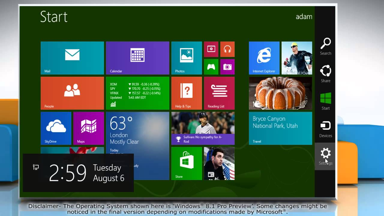 how to get rid of narrator on windows 8