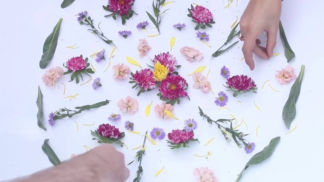 Flower Mandalas With The Lotuswei Team Youtube