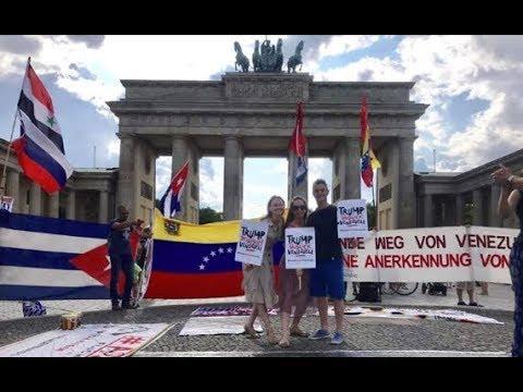 #Tango für Venezuela am Brandenburger Tor #Berlin 3. Aug. 2019