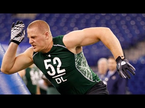 J J Watt 2011 Nfl Scouting Combine Highlights Youtube