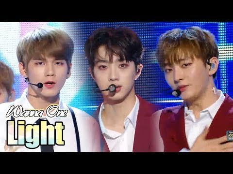 [HOT] Wanna One - Light  , 워너원 - 켜줘  Show Music Core 20180616