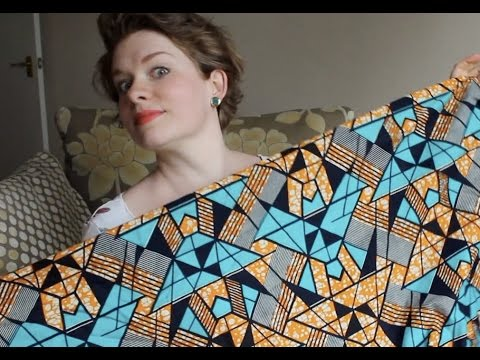 African Wax Print Fabric, But What For? – April Fabric & Pattern Haul – Vlog 1
