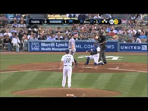 2011/06/20 Kershaw's 11 strikeouts