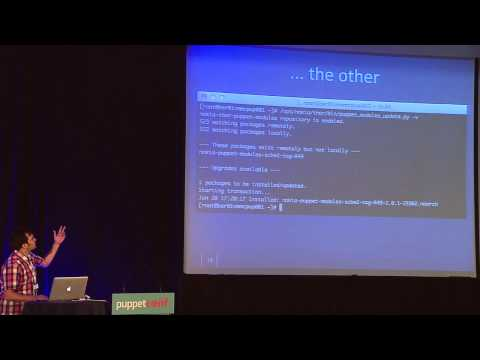 Scaling a multi-tenant puppet-system - Pascal Hahn of Nokia