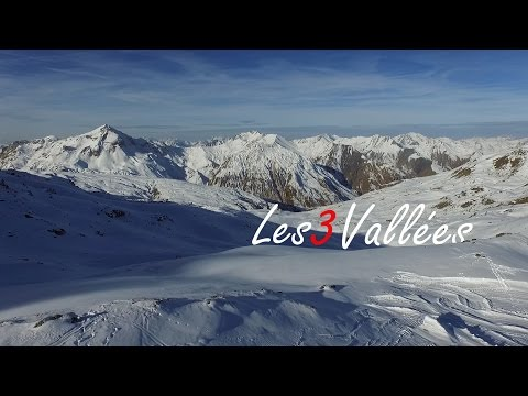 Skiing French Alps | Les 3 Vallées