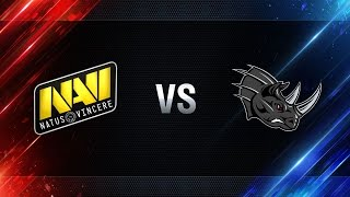 Natus Vincere vs Nashorn - day 4 week 2 Season I Gold Series WGL RU 2016/17