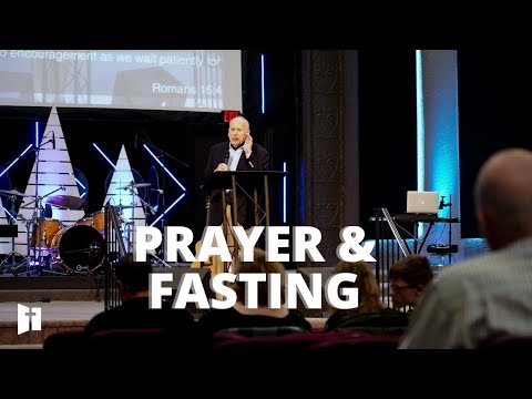 Prayer & Fasting | Pastor Wayne