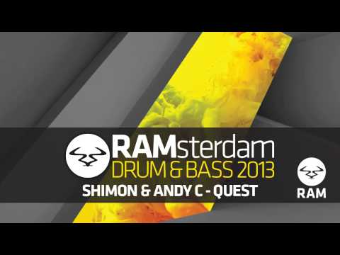 Shimon & Andy C - Quest #RAMsterdam Drum & Bass 2013