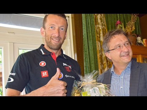 Austrian Half Iron 2016 - Interview Marino Vanhoenacker