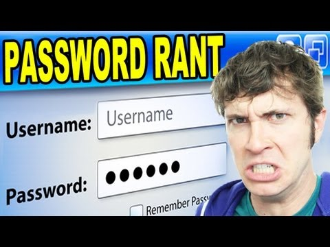 PASSWORD RANT