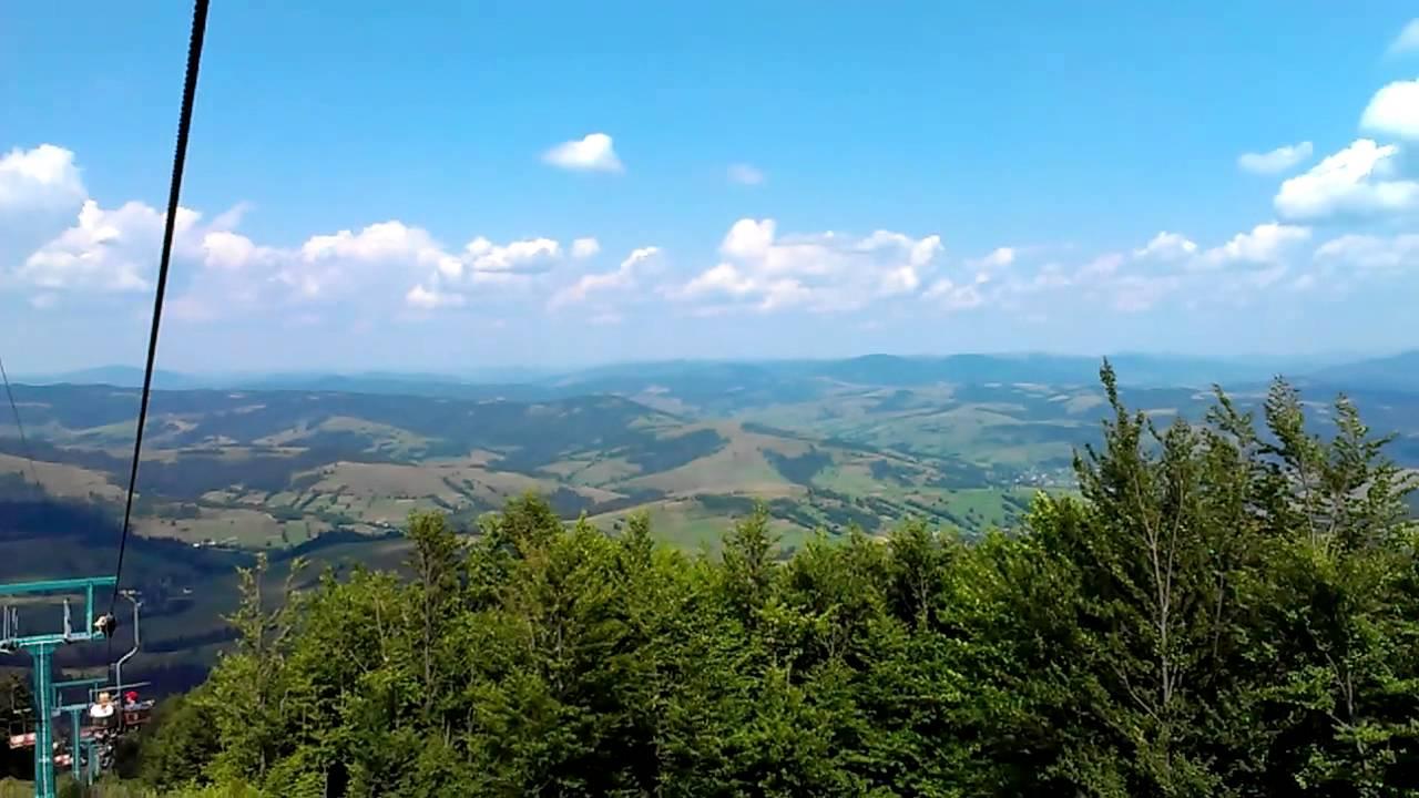Гора Гемба, Гимба, спуск - YouTube